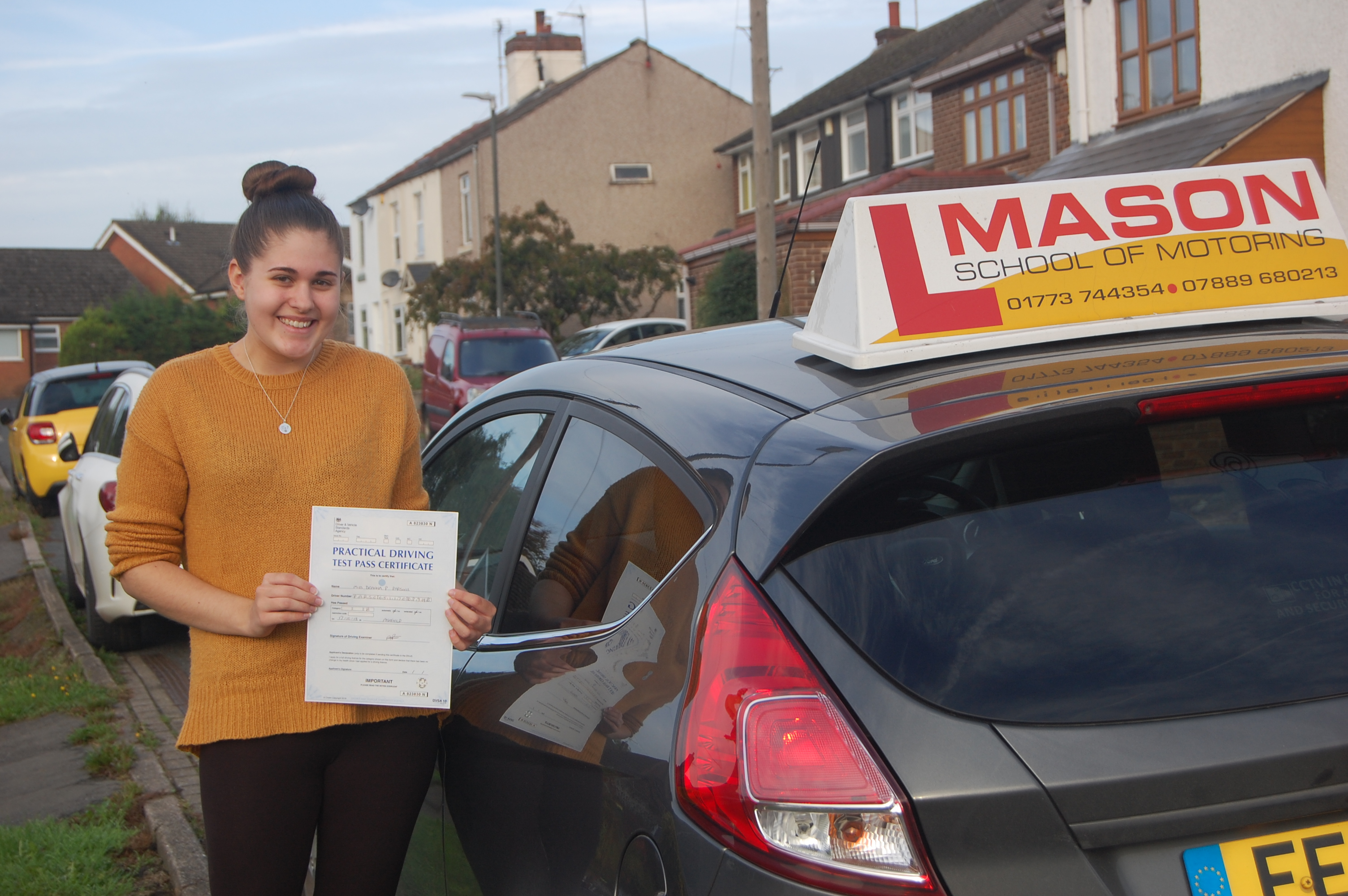 At Mason School of Motoring, our aim is to achieve a high